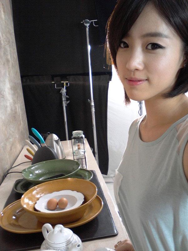 T-ara Eun-jung breakfast