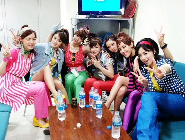 T-ara Hyomin Inkigayo Twits