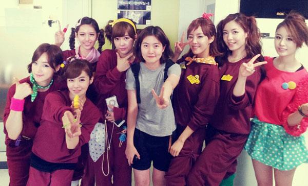 T-ara Music Core selca