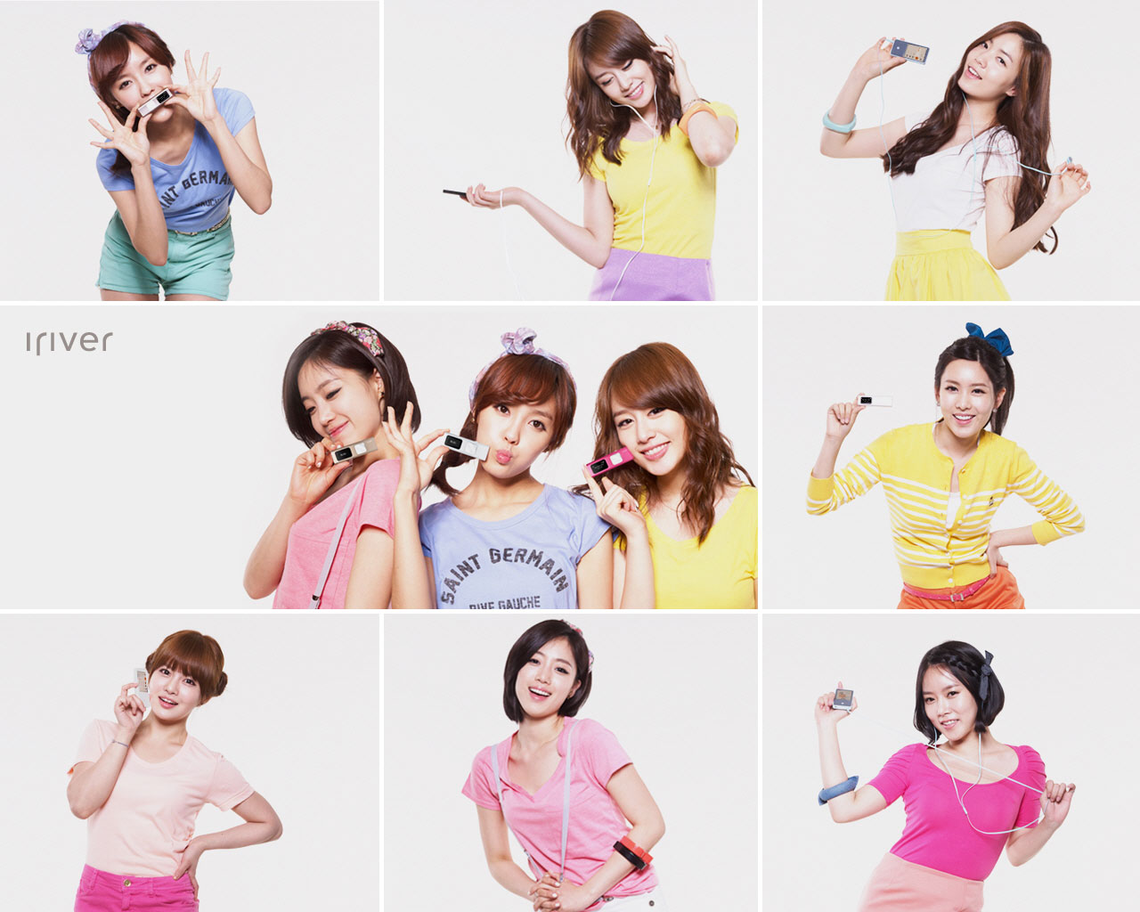 T-ara iRiver wallpaper