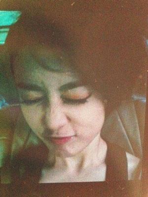 Jiyeon funny face selca