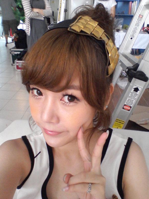 T-ara Soyeon selca on July 11 2011