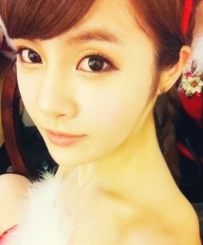 Boram August 2011 Twitter profile pic