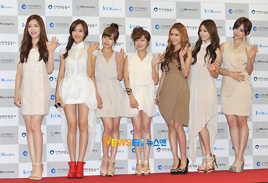 T-ara at Incheon Korean Wave Music Festival red carpet