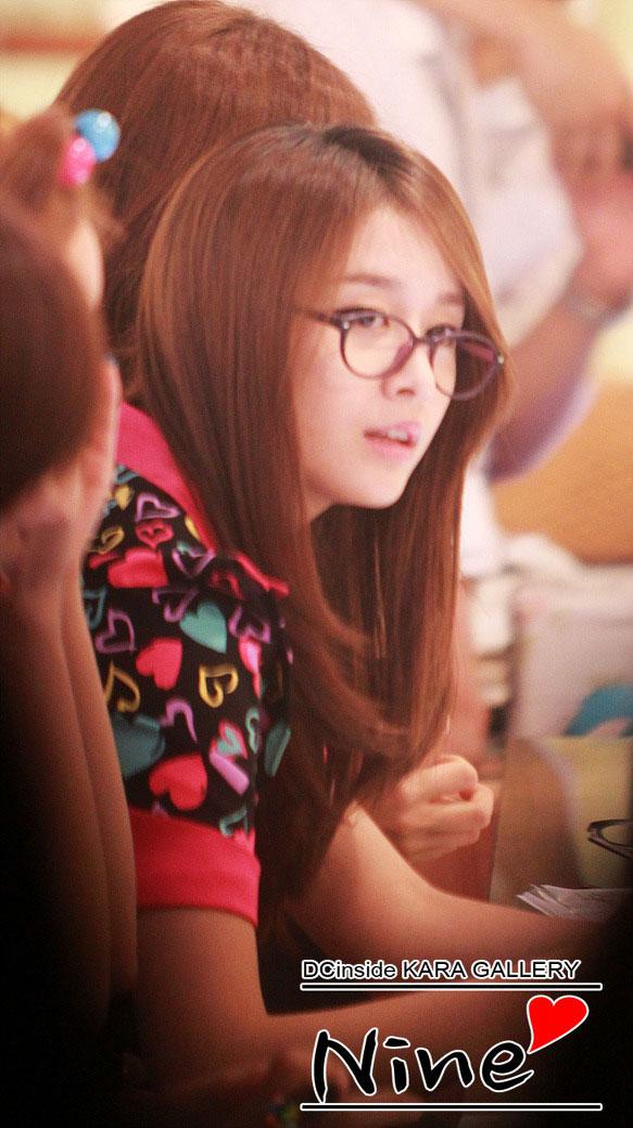 T-ara Jiyeon Look Optical fan photo