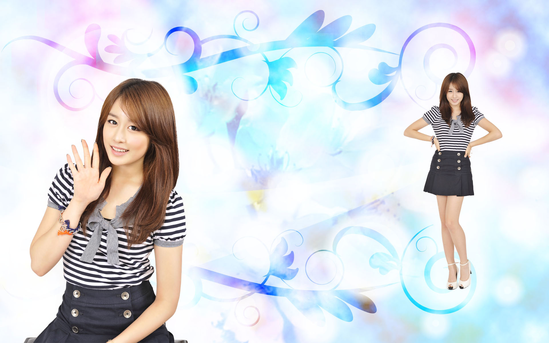 T-ara Jiyeon Bo Beep Bo Beep Japan wallpaper