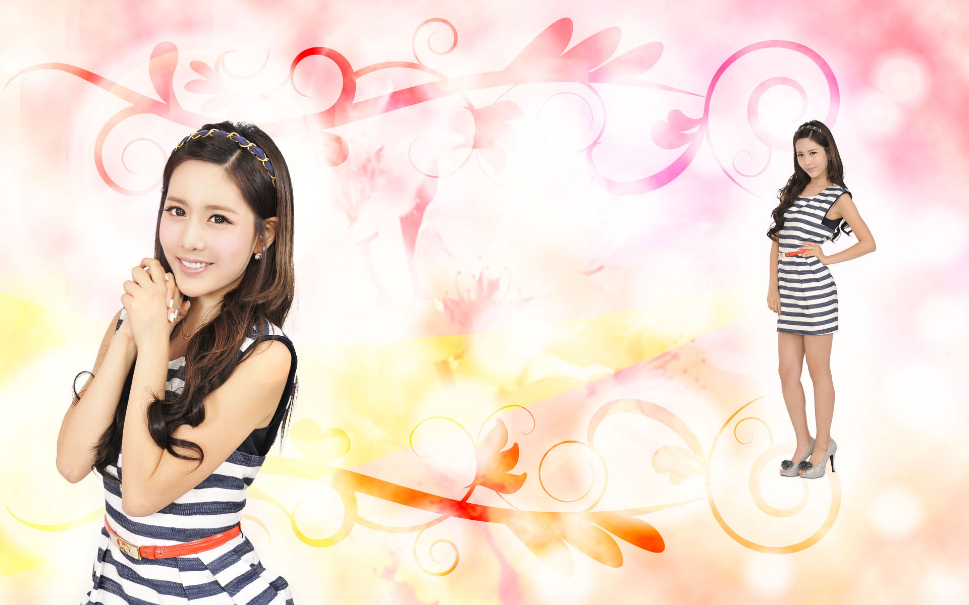 T-ara Qri Bo Beep Bo Beep Japan wallpaper