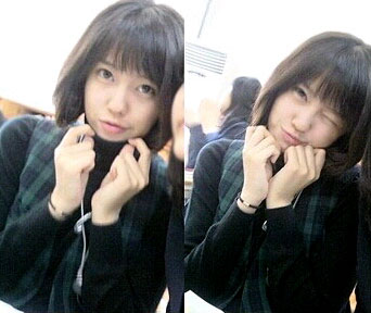 T-ara Hyomin high school