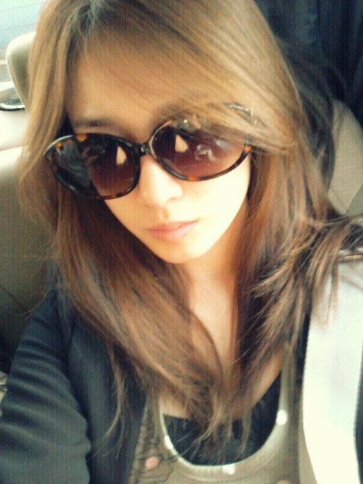 T-ara Jiyeon sunglasses selca