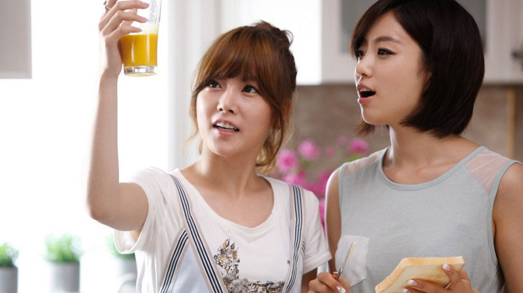 T-ara Soyeon Eunjung Shin Ramyun