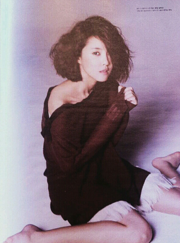 T-ara Hyomin High Cut Magazine