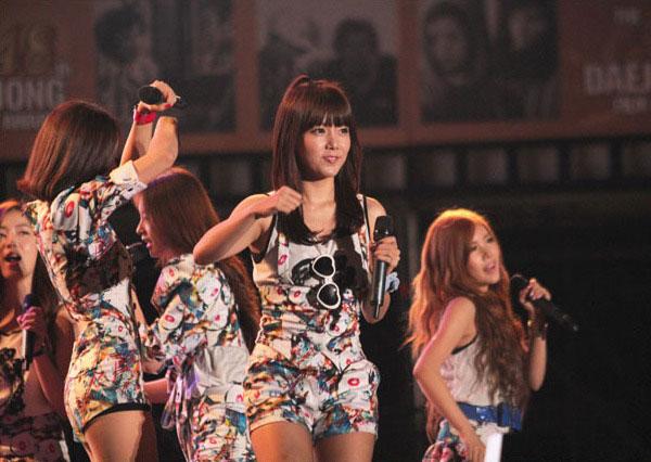 T-ara Soyeon Jungnang Cultural Arts Festival