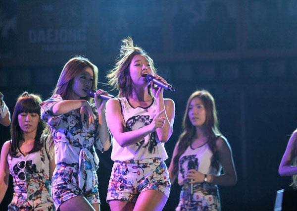 T-ara Eunjung Jungnang Cultural Arts Festival