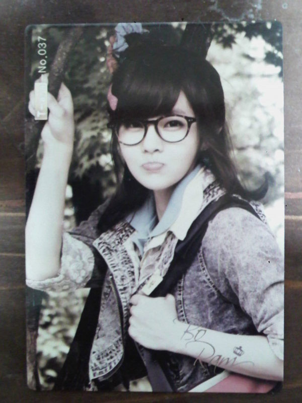 T-ara Boram Roly Poly star card