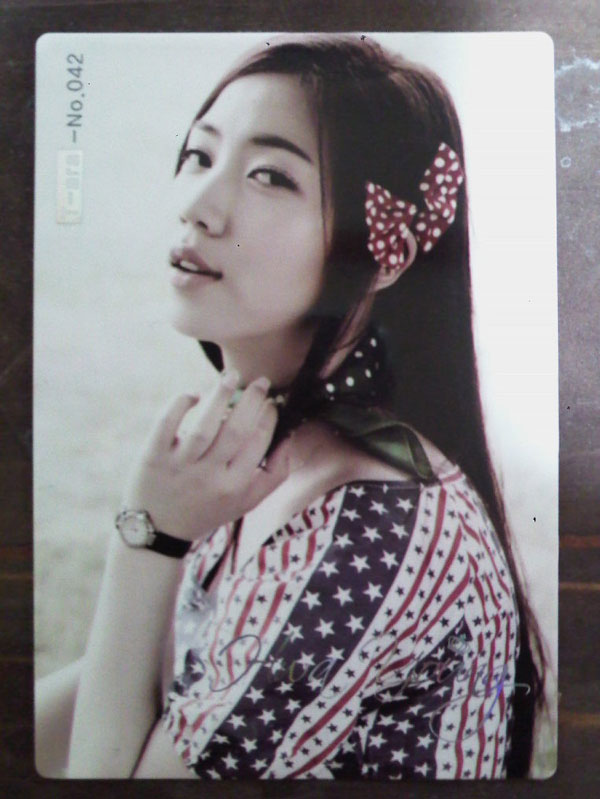 T-ara Hwayoung Roly Poly star card