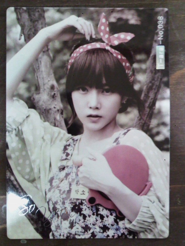 T-ara Soyeon Roly Poly star card