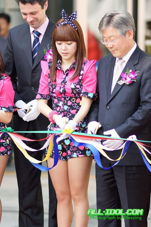 T-ara Soyeon Korea Serious Game Festival