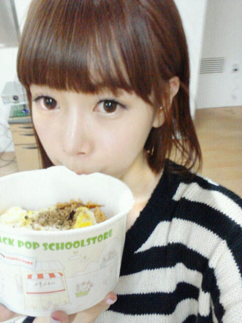 Tony Ahn food for T-ara Soyeon