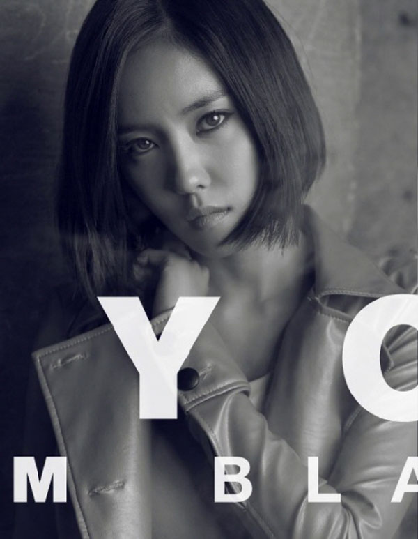 T-ara Hyomin Cry Cry Black Eye