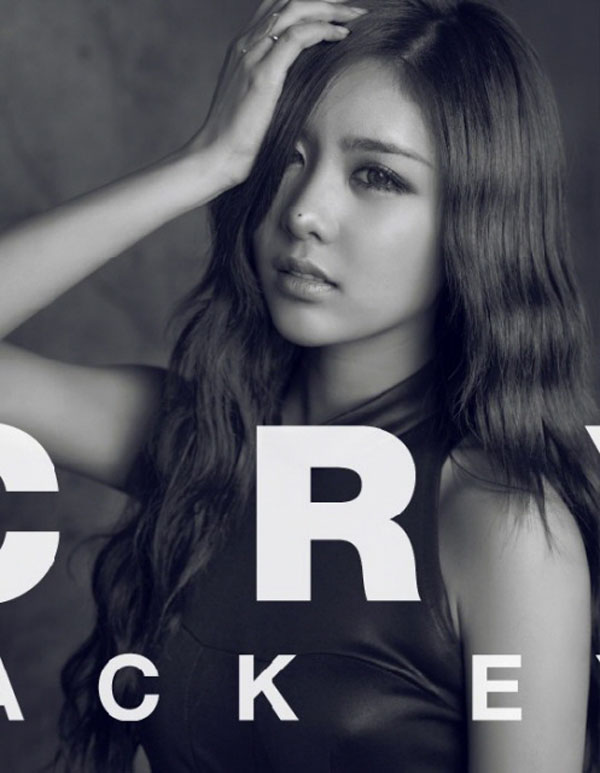 T-ara Qri Cry Cry Black Eye