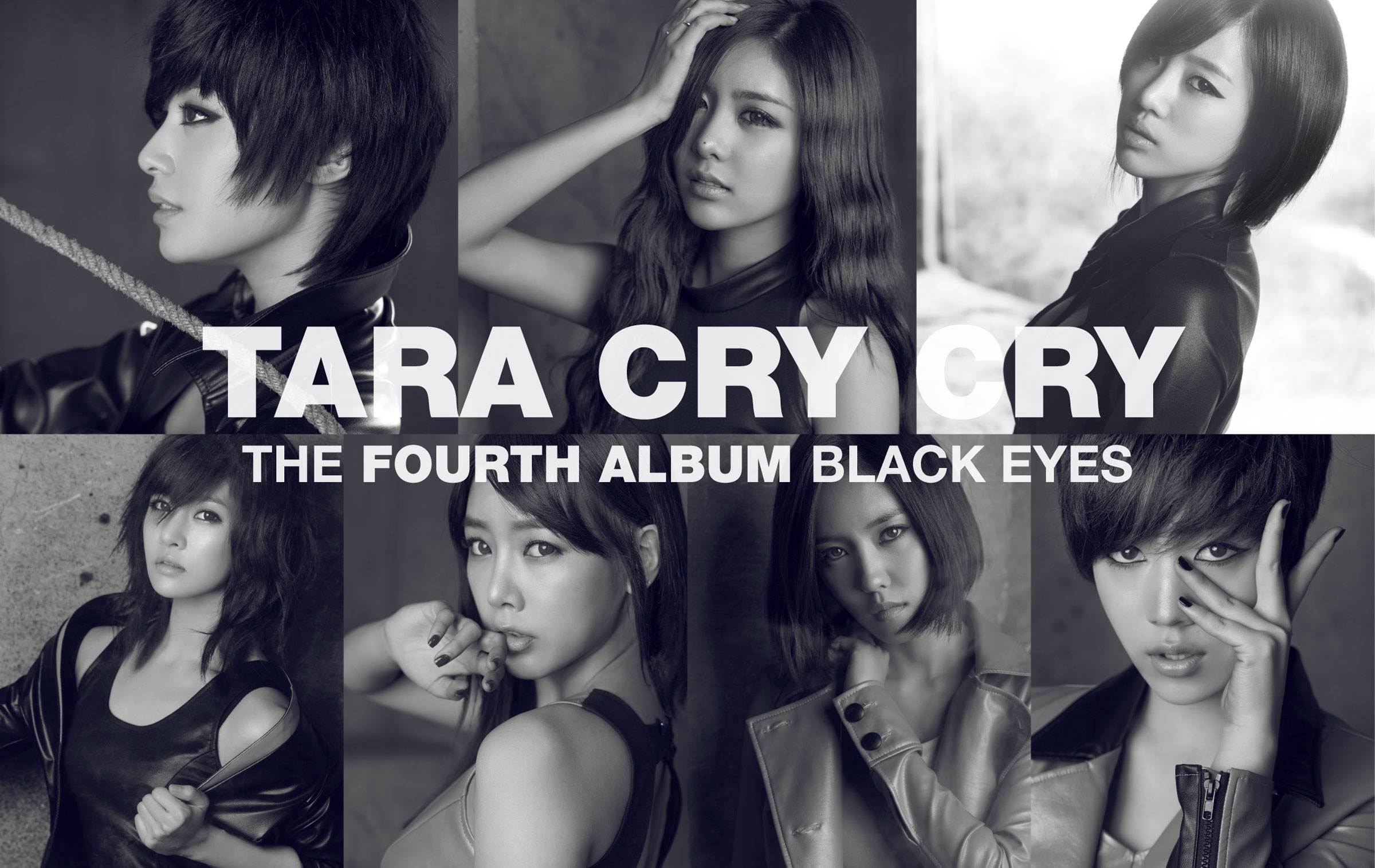 T-ara Cry Cry Black Eye album