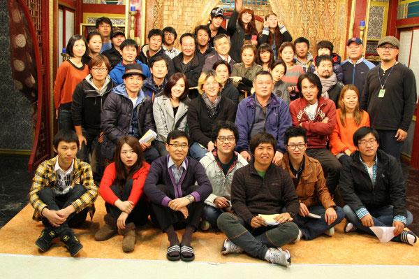 T-ara Hyomin Gyebaek drama crew members