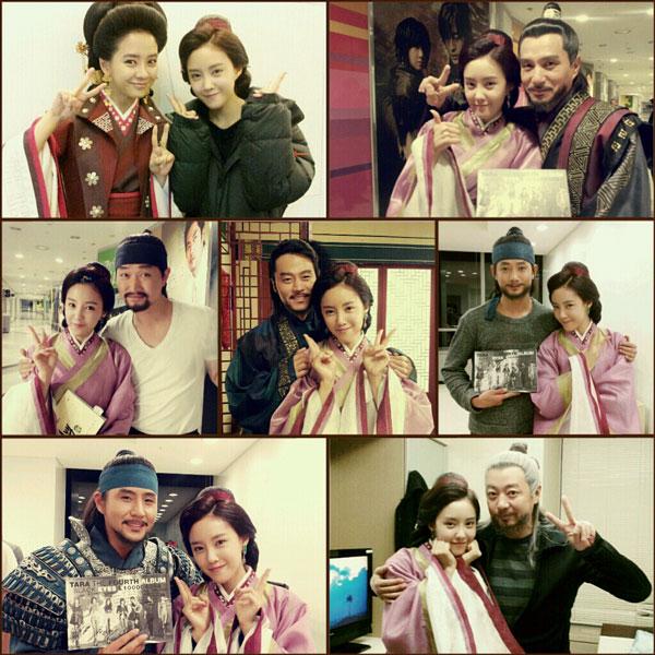 T-ara Hyomin Gyebaek drama cast members