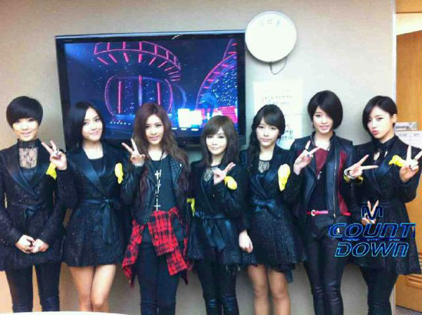 T-ara Cry Cry Mnet Mcountdown comeback stage