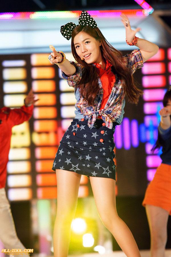 T-ara Hwayoung Busan Hallyu Beach Concert