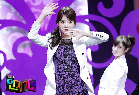 T-ara Soyeon Cry Cry Inkigayo
