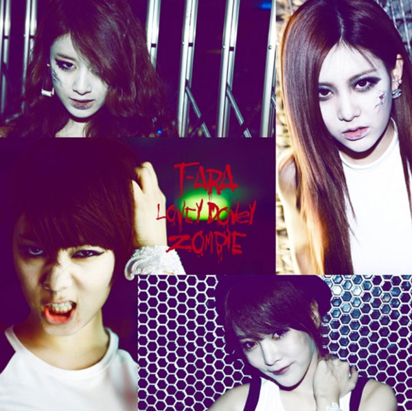 T-ara Lovey Dovey Zombie concept