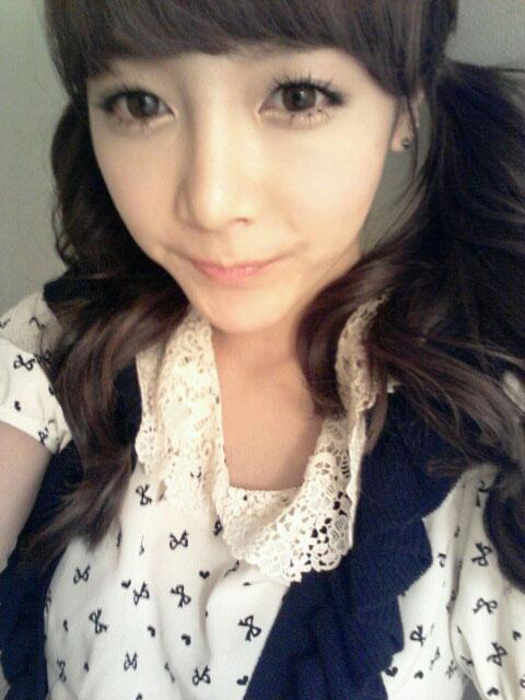 T-ara Soyeon Twitter selca