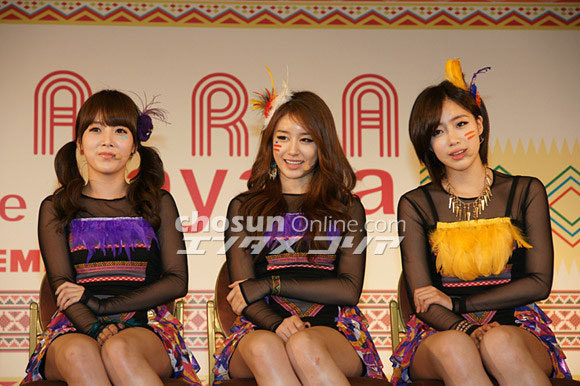 T-ara Yayaya Japanese showcase