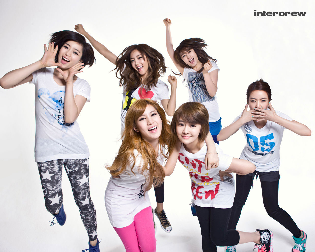 T-ara Intercrew wallpaper