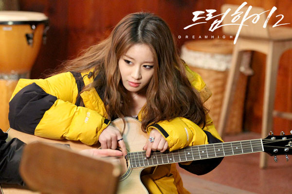 T-ara Jiyeon Dream High 2 drama