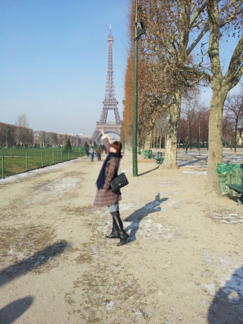 T-ara Soyeon Paris Eiffel Tower