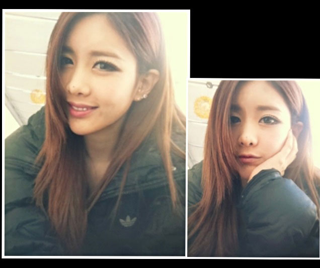 Qri cold selca