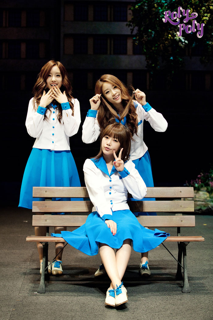 T-ara Our Youth, Roly Poly musical