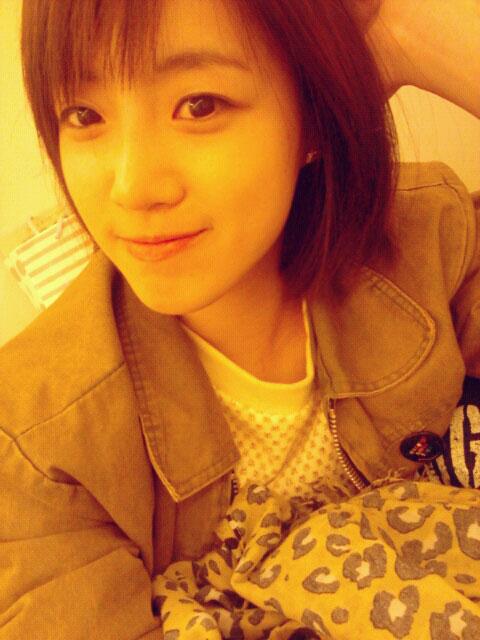 T-ara Eunjung Twitter hairstyle