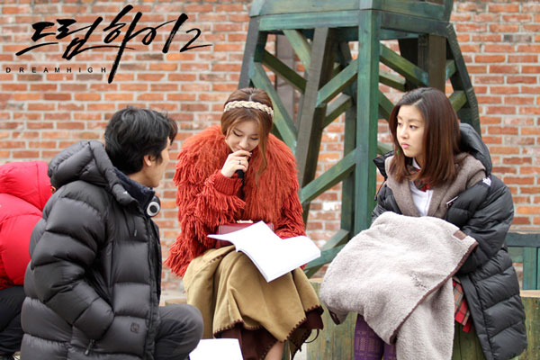 T-ara Jiyeon and Kang Sora Dream High drama