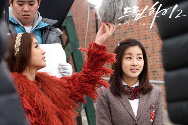 T-ara Jiyeon and Kang Sora Dream High drama