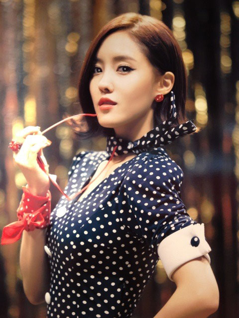 T-ara Hyomin Roly Poly Japan