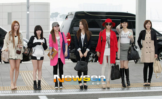 T-ara Korean airport