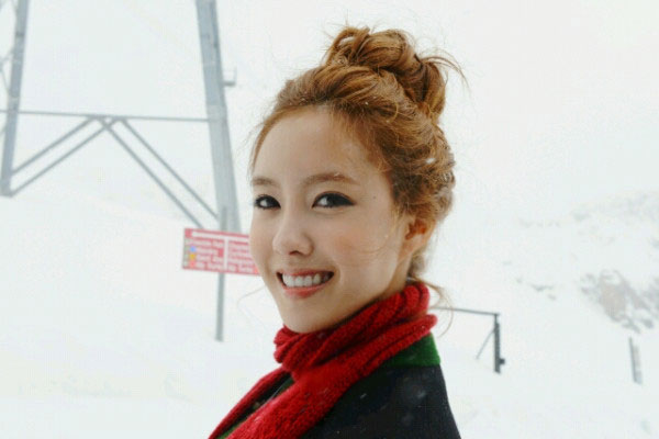 T-ara Hyomin Switzerland tweets
