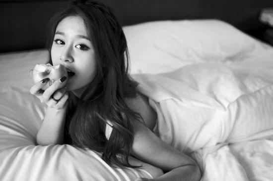 T-ara Jiyeon Freedom photoshoot