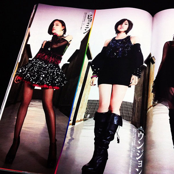 T-ara Japanese Flash Magazine