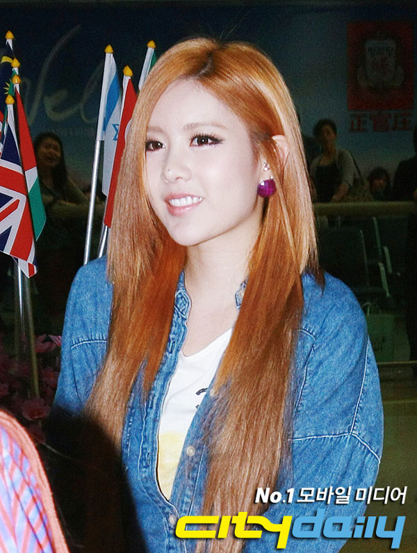 T-ara Qri airport fashion