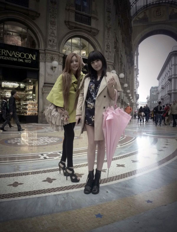 T-ara Boram Qri Italy