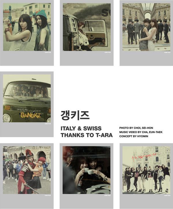 T-ara Gang Kiz Europe