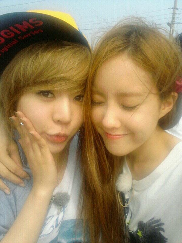 T-ara Hyomin and SNSD Sunny